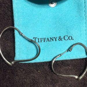 Tiffany & Co. Jewelry - Tiffany & Co. Elsa Peretti Sterling Heart Earrings